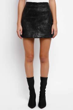 Blank Sequin Mini Skirt