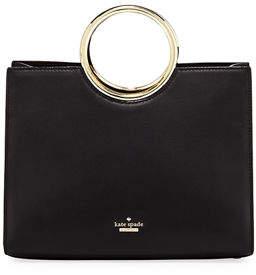 Kate Spade White Rock Road Sam Leather Ring-Handle Bag