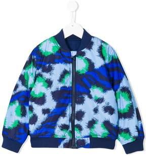 Kenzo animal print bomber jakcet