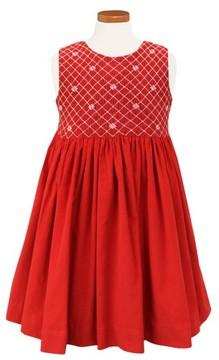 Sorbet Girl's Embroidered Smocked Dress