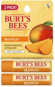 (2 Pack) Mango Lip Balm by Burt's Bees (2pc Lip Balm)