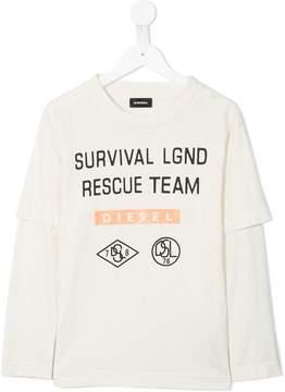 Diesel Rescue Team longsleeved T-shirt