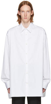 Raf Simons White Big Shirt