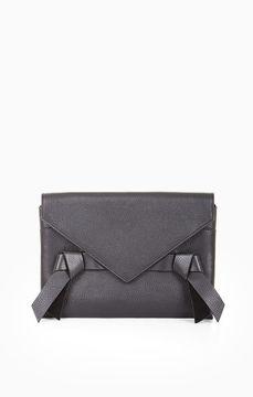 BCBGMAXAZRIA Nicoletta Leather Clutch