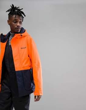 Oakley Snow Highline BZS Ski Jacket 10K Waterproof Regular Fit in Neon Orange