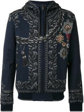 Dolce & Gabbana medal print hoodie