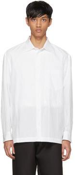 Issey Miyake White Crash Shirt