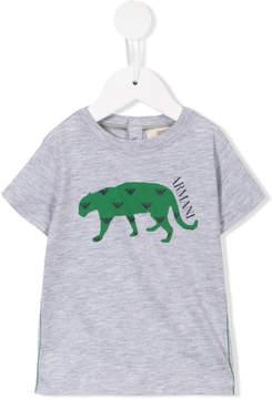 Emporio Armani Kids crocodile print T-shirt