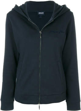 Armani Jeans hooded zip-up jacket