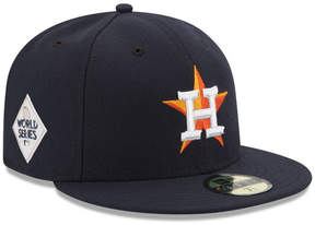 New Era Houston Astros 2017 World Series 59FIFTY On-Field Patch Fitted Cap
