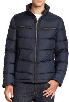 Cole Haan Packable Down Moto Jacket
