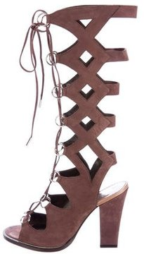 Roberto Cavalli Lace-Up Gladiator Sandals