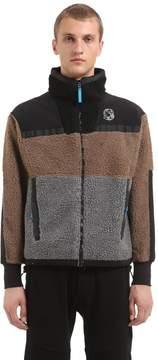 Billionaire Boys Club Paneled Zip-Up Fleece Jacket