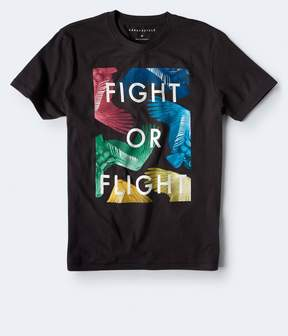 Aeropostale Fight Or Flight Graphic Tee