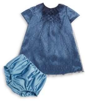 Isabel Garreton Baby's Smocked Dress & Bloomers Set
