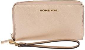 MICHAEL Michael Kors Wristlets Zip Around Wallet - PINK - STYLE