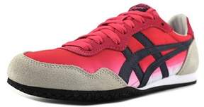 Onitsuka Tiger by Asics Serrano Women Round Toe Canvas Pink Sneakers.