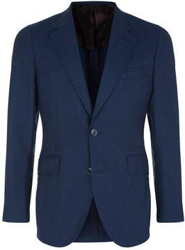 Hackett Wool-Cotton Hopsack Jacket