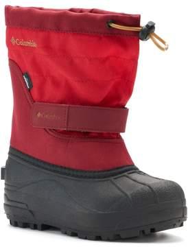 Columbia Powderbug Plus II Boys' Waterproof Winter Boots