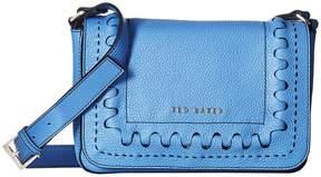 Ted Baker Interlocking Leather Crossbody Cross Body Handbags