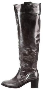 Reed Krakoff Metallic Knee-High Boots