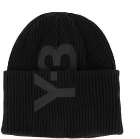 Y-3 Black Cotton Hat