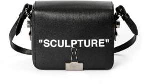 Off-White Sculpture Flap Shoulder Bag