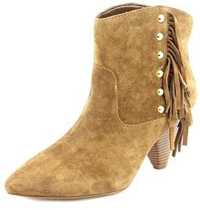INC International Concepts Pallavi Women Pointed Toe Suede Ankle Boot.