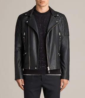 AllSaints Rasco Leather Biker Jacket