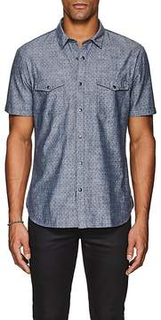 John Varvatos Men's Sprinkle-Print Cotton Shirt