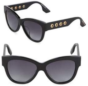 McQ Gradient 54MM Rectangle Sunglasses
