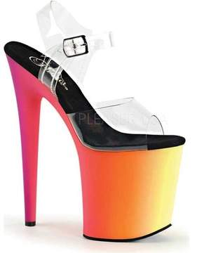 Pleaser USA Rainbow 808UV Ankle Strap (Women's)