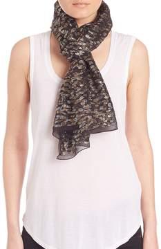 Roberto Cavalli Women's Textured Silk Blend Scarf