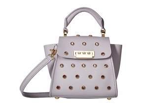 Zac Posen Eartha Iconic Top-Handle Mini Jewel Lady with Tonal Jewels Top-handle Handbags