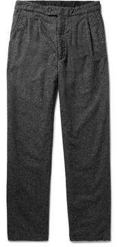 Engineered Garments Emerson Pleated Wool-Blend Trousers