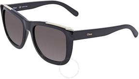 Chloé Dallia Grey Gradient Rectangular Sunglasses CE659S 001