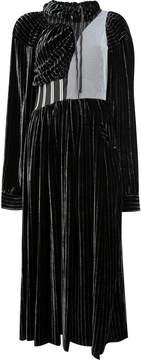 Aalto drawstring striped dress