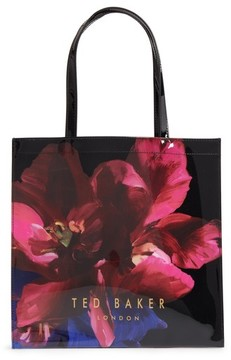 Ted Baker Large Icon - Impressionist Bloom Tote - Black