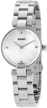 Rado Coupole White Mother Of Pearl Dial Ladies Watch