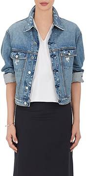 IRO Women's Bill Distressed Denim Oversized Jacket