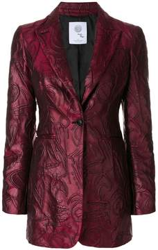Boule De Neige textured jacquard blazer