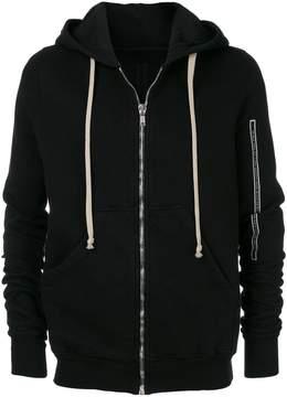 Rick Owens hooded hoodie