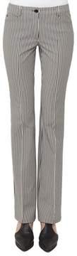 Akris Punto Faye Stripe Bootcut Pants