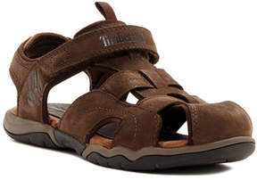 Timberland Oak Bluffs Leather Fisherman Sandal (Little Kid)