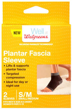 Walgreens Plantar Fascia Sleeves Small/Medium
