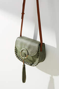 Anthropologie Western Ring Saddle Bag