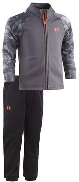 Under Armour Baby Boy Cloudy Grid Track Jacket & Pants Set