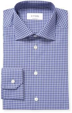 Eton Men's Check Cotton Dress Shirt