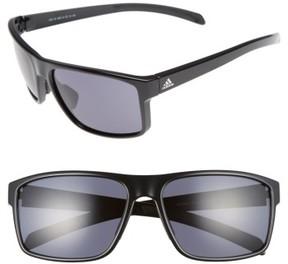 Women's Adidas Whipstart 61Mm Sunglasses - Shiny Black/ Grey