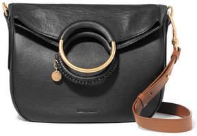See by Chloe Monroe Medium Textured-leather Tote - Black
